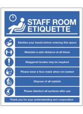Staff Room Etiquette