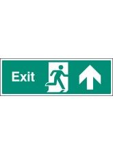 Exit - Up / Straight On