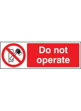 Do Not Operate
