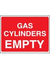 Gas Cylinder Empty