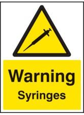 Warning Syringes