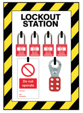 Small Lockout Station