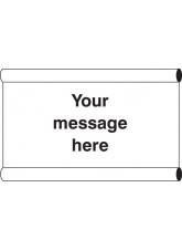 Design Your Own Banner with Loops - 1270 x 610mm