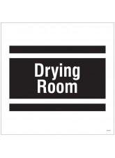 Drying Room - Site Saver Sign - 400 x 400mm