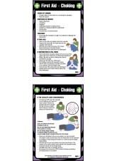 First Aid Choking - Pocket Guide - 80 x 120mm