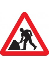 Road Works - Class RA1 - 750mm Triangle
