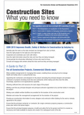 Construction (Design & Management) Regulations 2007
