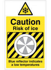Ice Detector - Caution Risk of Ice