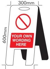 Standard Special - Self Standing Floor Sign