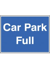 Car Park Full with Frame - 600 x 450mm