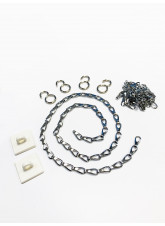 Chain Suspension Kit (Chrome)