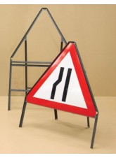 Road Sign Frame - 600mm Triangle - 450mm Legs