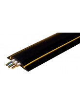 Hazard Cable Protector 80mm x 14mm x 9m Black / yellow