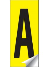 Identification Letter A-Z Set