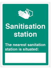 Your nearest Sanitisation Station is