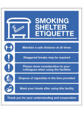 Smoking Shelter Etiquette